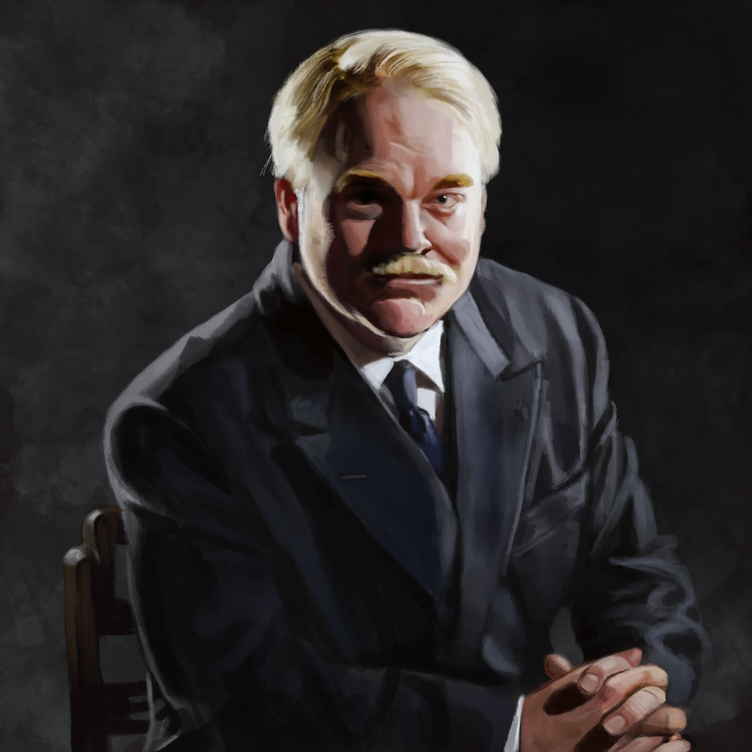 The Master Philip Seymour Hoffman Art Print