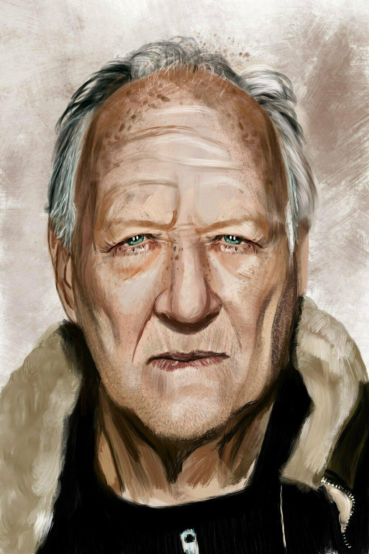 Werner Herzog Portrait Print