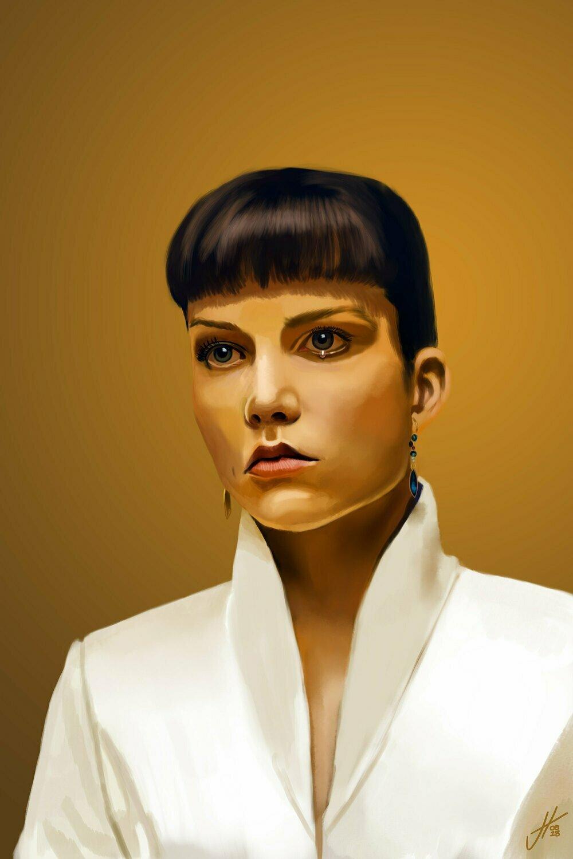 Blade Runner 2049 Luv Art Print