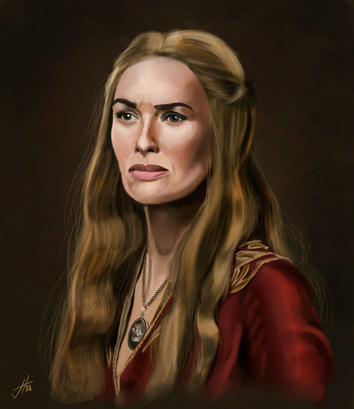 Game of Thrones Cersei Lannister Art Print