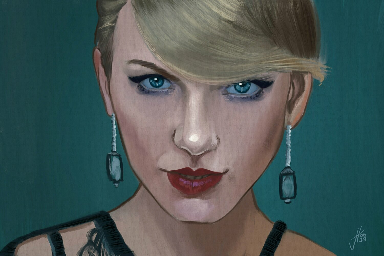 Taylor Swift Portrait Art Print