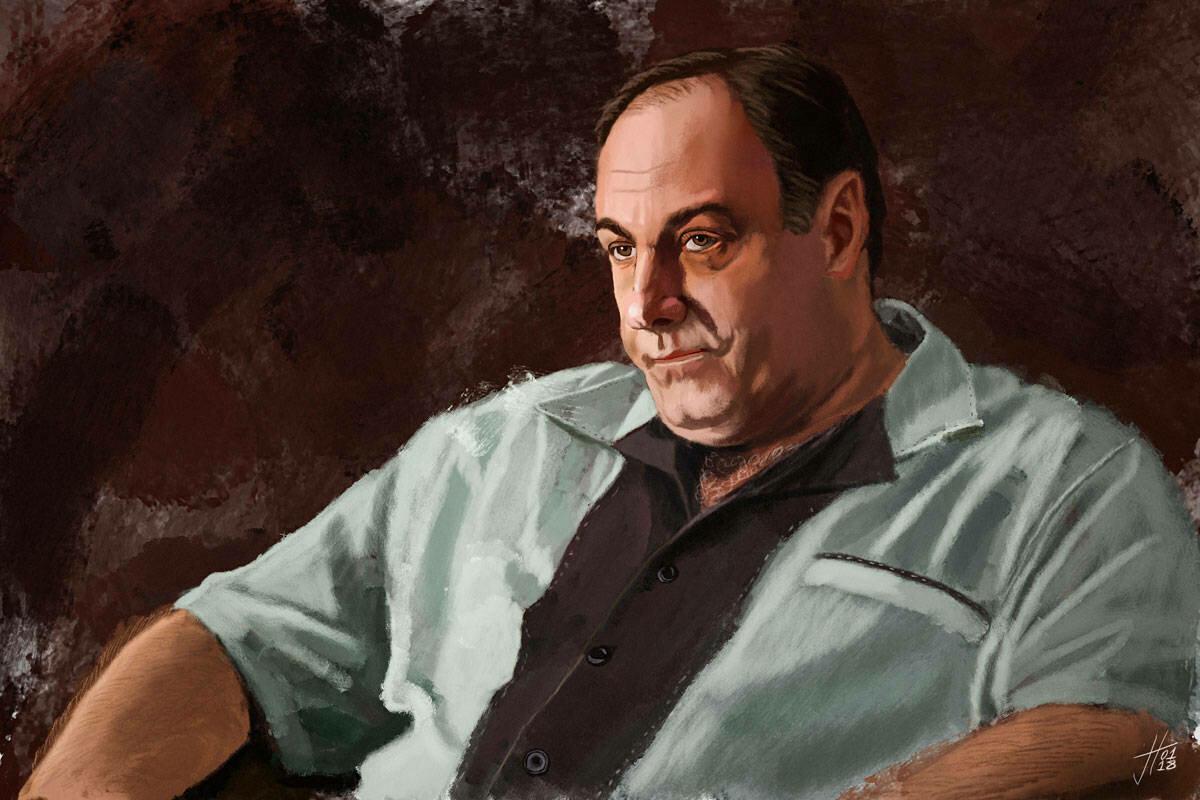Tony Soprano Art Print