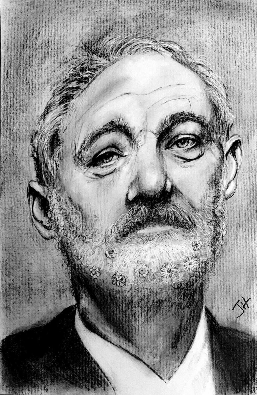 Bill Murray Portrait Art Print