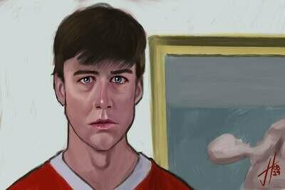 Ferris Bueller's Day Off Cameron Art Print Alan Ruck