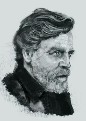 Mark Hamill Art Print