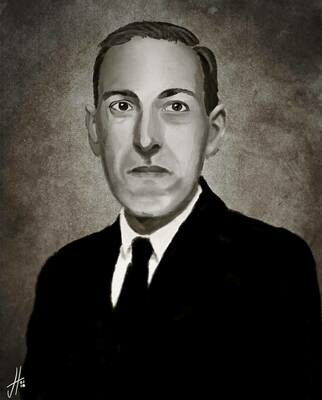HP Lovecraft Art Print