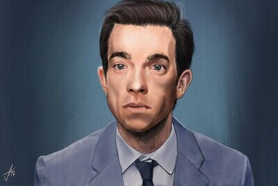 John Mulaney Art Print