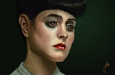 Blade Runner Rachel Sean Young Art Print