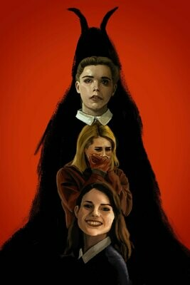 The Blackcoat's Daughter art print poster