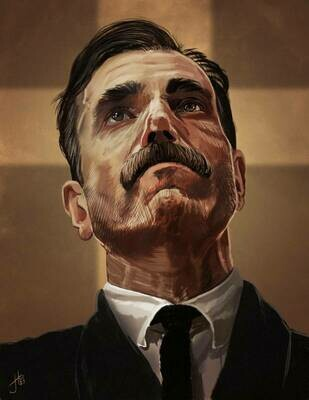 There Will Be Blood Daniel Plainview Art Print