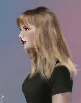 Taylor Swift Art Print