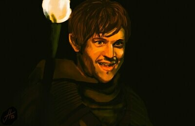 Game of Thrones Ramsay Bolton Art Print