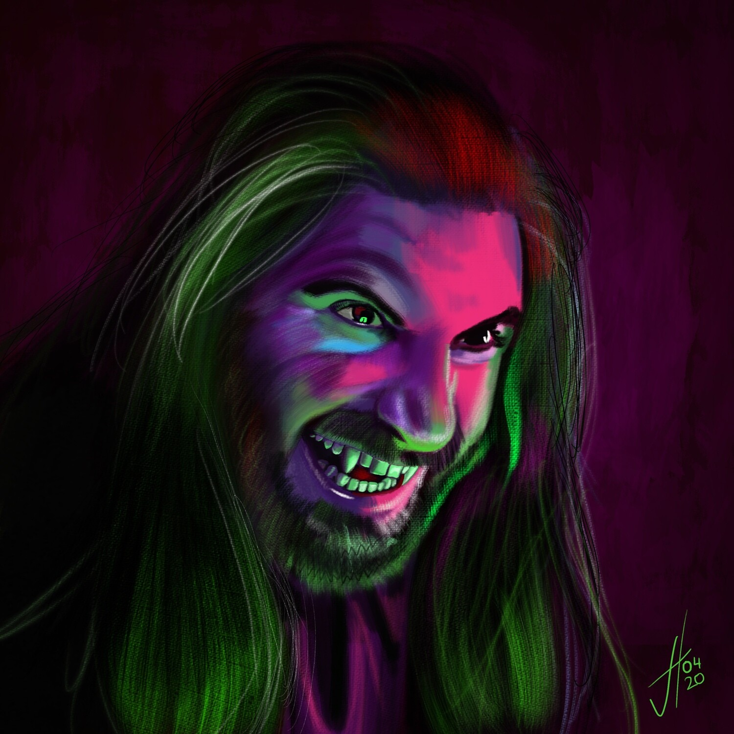 What We Do In the Shadows Nandor Art Print