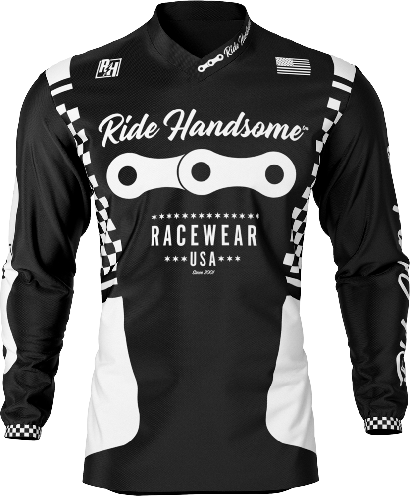 Ride Handsome Team Moto/ Downhill Race Jersey