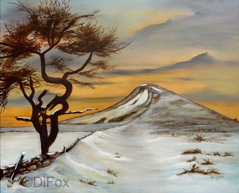That Crooked Tree 40 x 51 cm