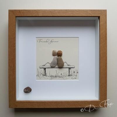 Pebble art for friends