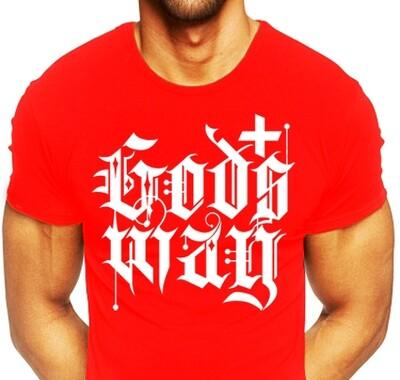 Red GODS+WAY Shirt