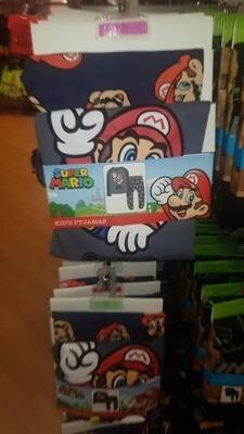 Boy's Mario PJ set