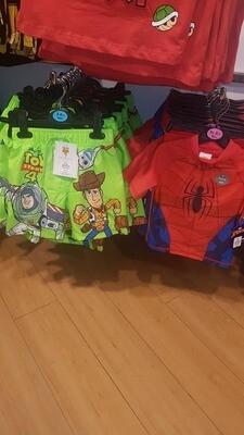 Toy story swim trunks