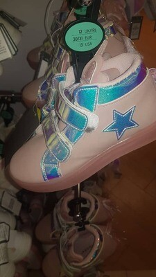 Girls trainers - blue and pink