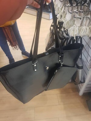 Ladies' black handbag