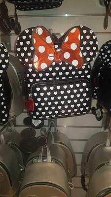 Girls polka dot backpack