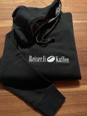 Reiser.li Kaffee HOODIE mit Kapuze und Bauchtasche