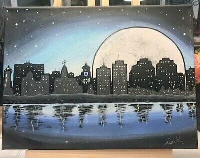 Halifax City Skyline March 25, 6 - 9 pm