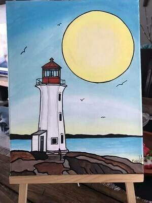 POSTPONED - Peggy's Cove Lighthouse April 1, 6 - 9 pm