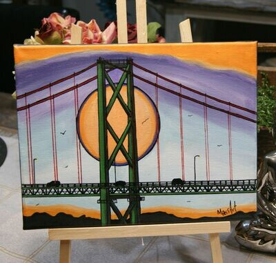 Sunset MacKay Bridge April 22, 6 - 9 pm