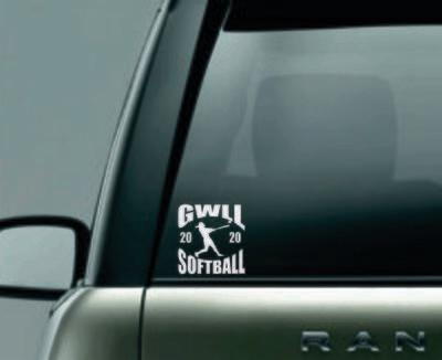 Softball decals