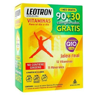 LEOTRON VITAMINAS 90+30 GRATIS