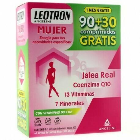 LEOTRON MUJER PACK 90+30 GRATIS