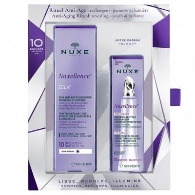 Nuxe Anti-Aging Ritual. Nuxellence Éclat + Nuxellence Zone Regard