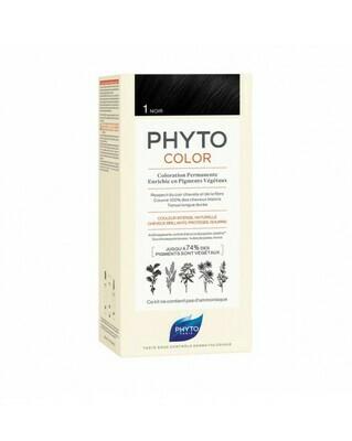 PHYTOCOLOR COLOR PERMANENTE - Color de cabello : 1 Negro