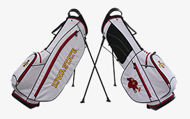 Iowa State Collegiate Stand Bag from Bridgestone