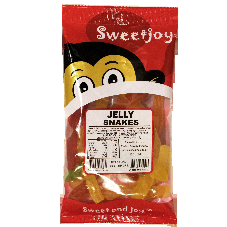 Jelly Snakes 150g