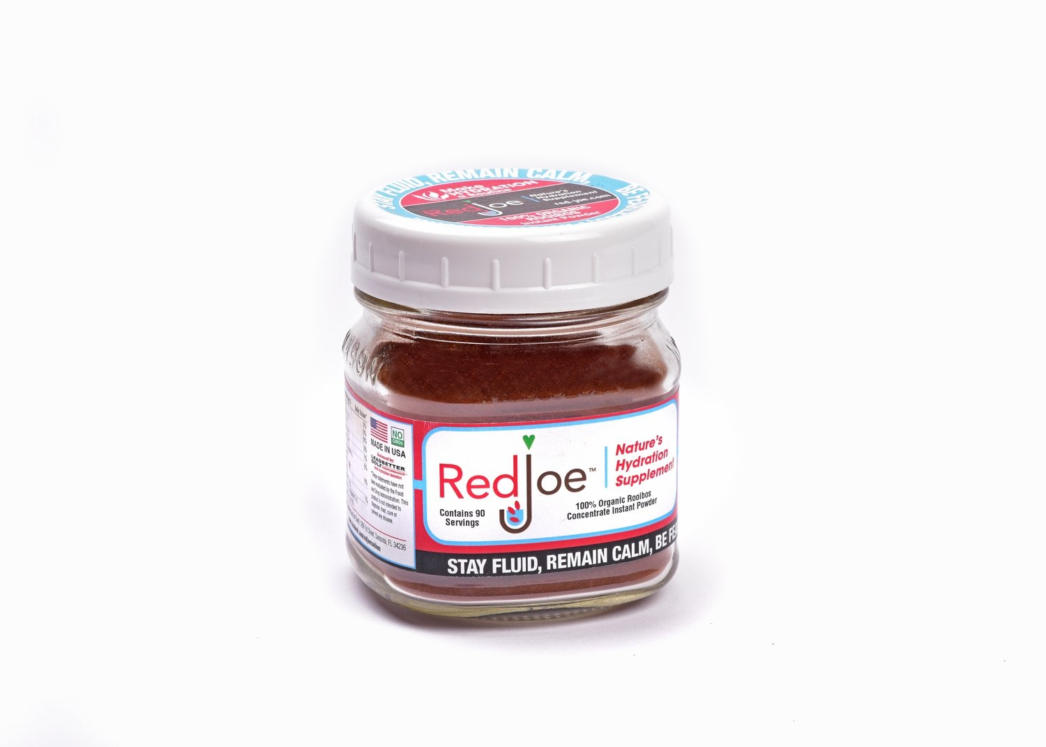 90 serving jar of RedJoe Powder