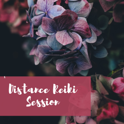 Reiki Distance Session - 1 Hour