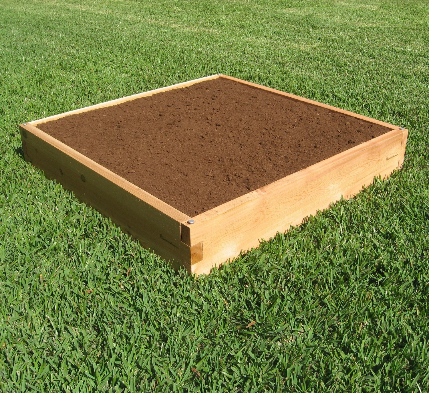 Small Garden Bed & Planting 4X4