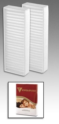 Cyclovac Carbon Dust Filter - 2pk