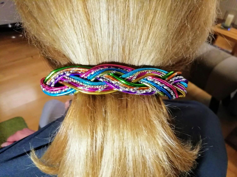 Hairclips multicolor big - Handmade by Corinna Kirchhof
