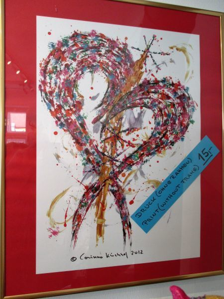 """Printouts from """"The Heart"""" designed by Corinna Kirchhof"""