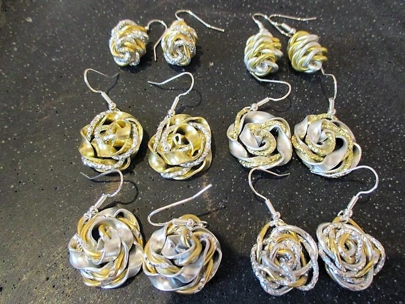 Earrings  Handmade  by Corinna Kirchhof