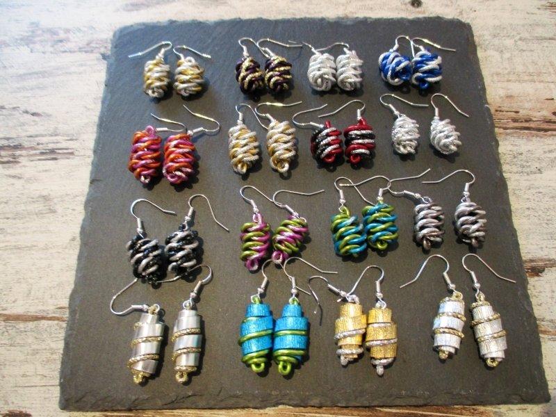 Earrings  Handmade  by Corinna Kirchhof