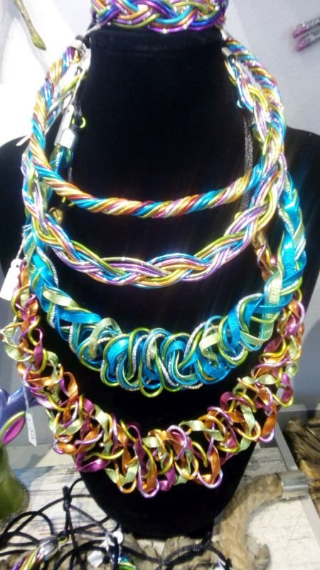 Necklaces € 45,00 - € 50.00 Handmade  by Corinna Kirchhof