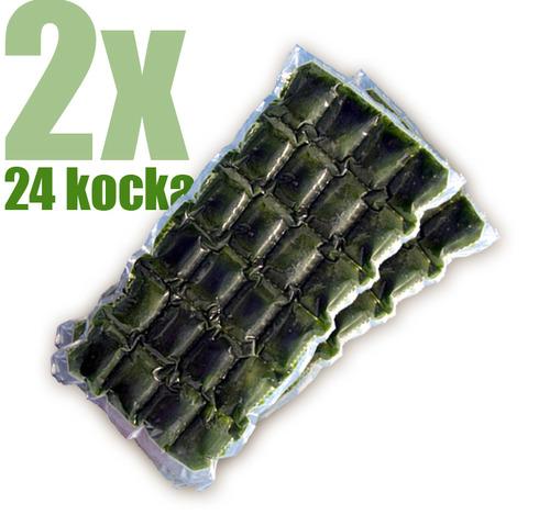 Gyorsfagyasztott bio búzafűlé 2x24 kocka