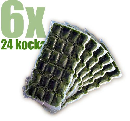 Gyorsfagyasztott bio búzafűlé 6x24 kocka
