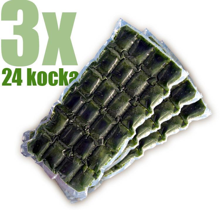 Gyorsfagyasztott bio búzafűlé 3x24 kocka