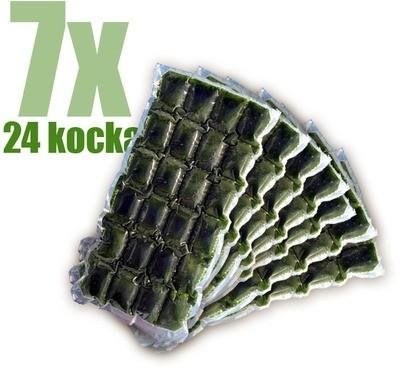 Gyorsfagyasztott bio búzafűlé 7x24 kocka